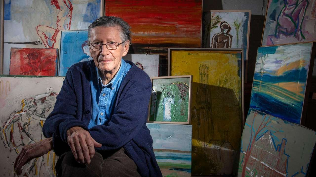 Paint And Click: Older Artists Find New Markets In