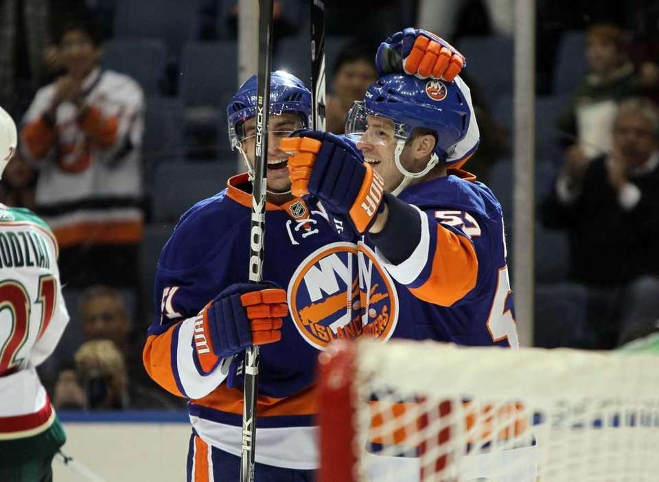 Blake Comeau #57 of the New York Islanders