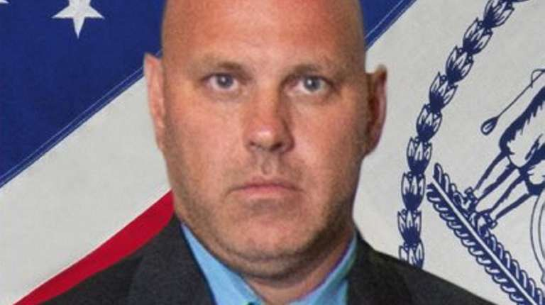 NYPD Det. Brian Simonsen, 42, died Tuesday night,
