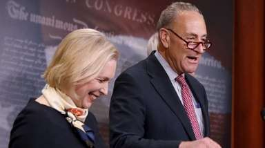 Senate Minority Leader Chuck Schumer of New York,