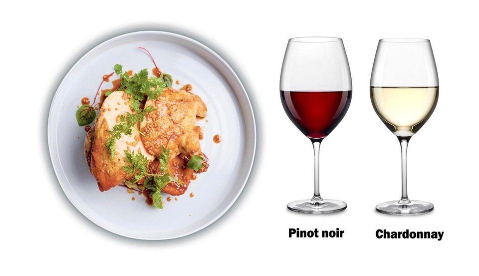 Roasted Chicken wine pairing