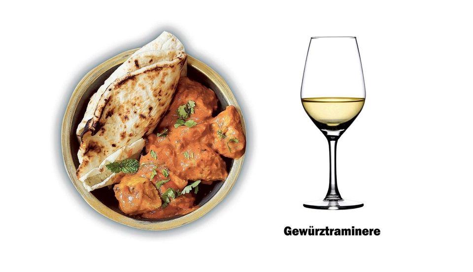 Chicken Tikka Masala wine pairing