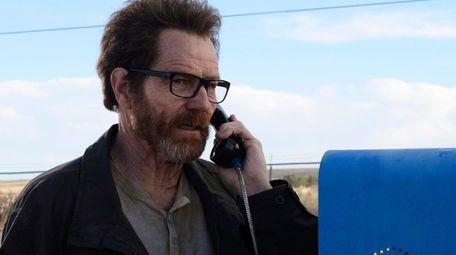 "Bryan Cranston as Walter White on AMC's """