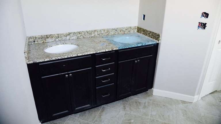 Having a taller bathroom countertop will make it