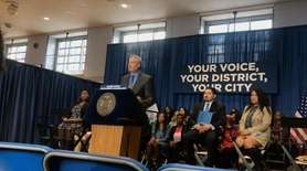 On Wednesday, Mayor Bill de Blasio and Corey