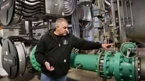 Bethpage Water District superintendent Mike Boufis describes the