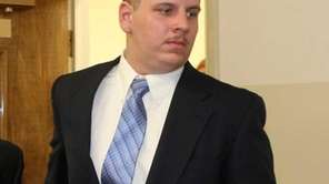 John Kaley appears in court Wednesday in Mineola.