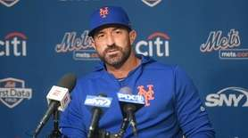 On Wednesday, Feb. 13, 2018, Mets manager Mickey