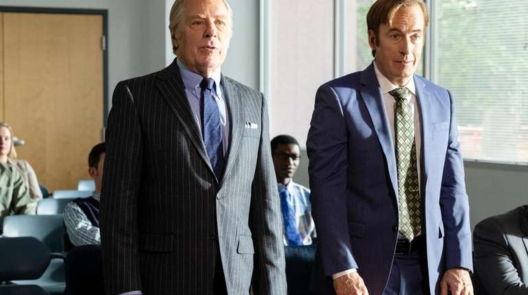 Bob Odenkirk as Jimmy McGill, Michael McKean as