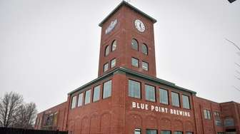 Blue Point Brewing Company in Patchogue. The brewery