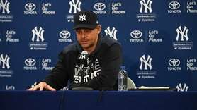 On Wednesday, Feb. 13, 2018, Yankees manager Aaron