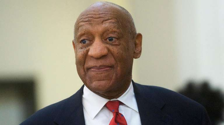 Comedian Bill Cosby, pictured at the Montgomery County