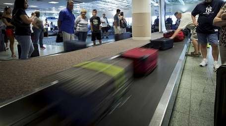 Upgrades are proposed for the MacArthur Airport baggage