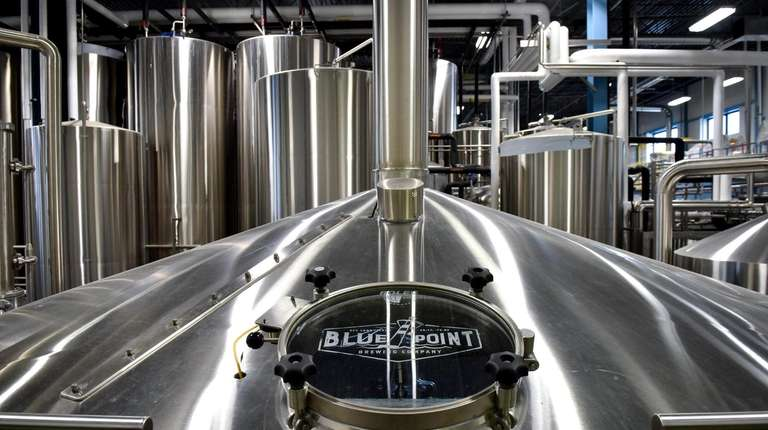 Blue Point Brewing Co. in Patchogue. The brewery