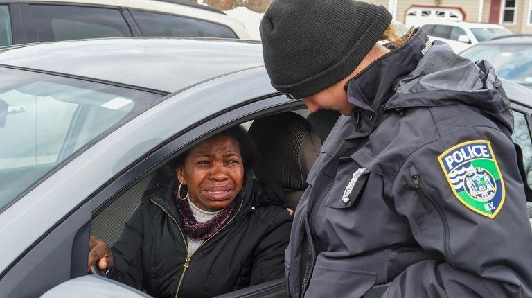 Rosa Sanga, near the Calverton home of NYPD