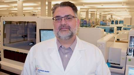 Dr. Dwayne Breining oversees lab services at Northwell