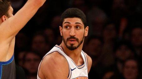Enes Kanter #00 of the New York Knicks