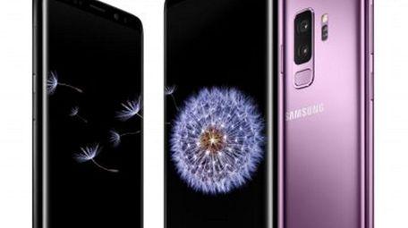Samsung's Galaxy S9 and Galaxy S9+  smartphones.