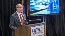Long Island Rail Road president Phil Eng hosts
