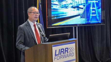Long Island Rail Road president Phil Eng hosts