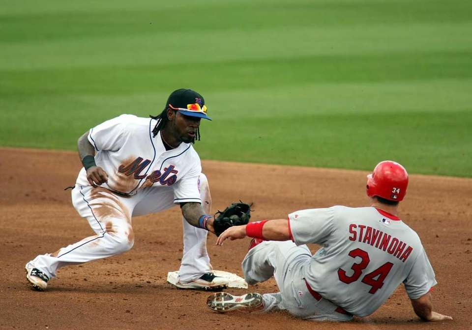 Shortstop Jose Reyes #7 of the New York