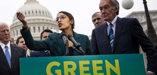 Representative Alexandria Ocasio-Cortez, a Democrat from New York,