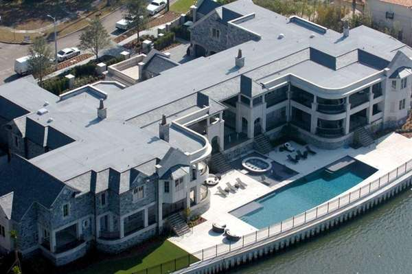 derek jeter mansion pictures. Aerial shot of Derek Jeter#39;s