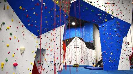 The Gravity Vault in Melville, includes an indoor