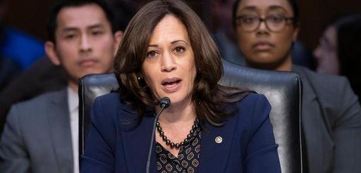 Senate Judiciary Committee member Sen. Kamala Harris, D-Calif.,