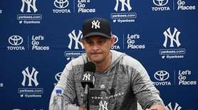 Yankees manager Aaron Boone said Thursday in a