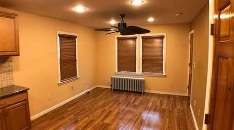The Syosset apartment.