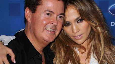 Producer Simon Fuller and
