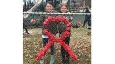 Kidsday reporters and student council members Grace Garrity,