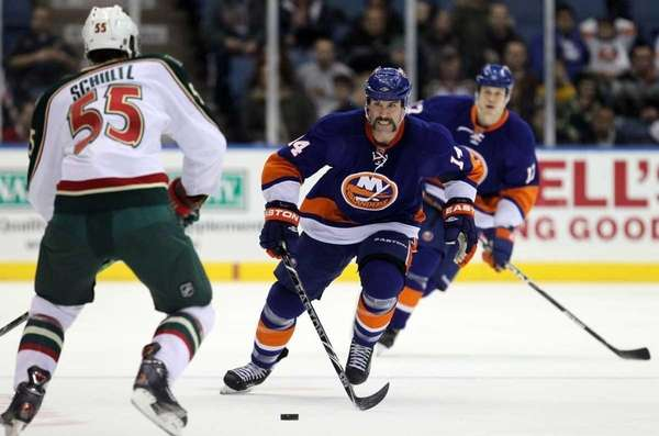 Islanders winger Trevor Gillies was suspended 10 games