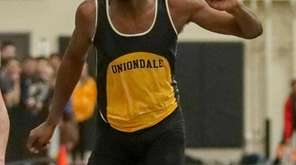 Giordano Williams of Uniondale wins the 55-meter dash