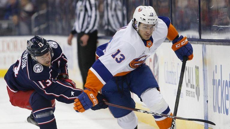 Islanders rebound by shutting down Blue Jackets | Newsday