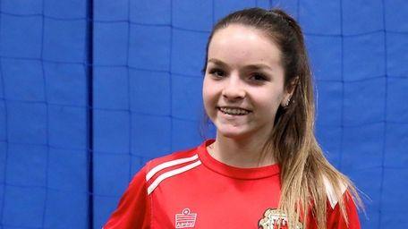Lions United FC Premier player Alexa Carseni, who