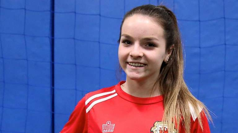 Lions United FC Premier player Alexa Carseni, who