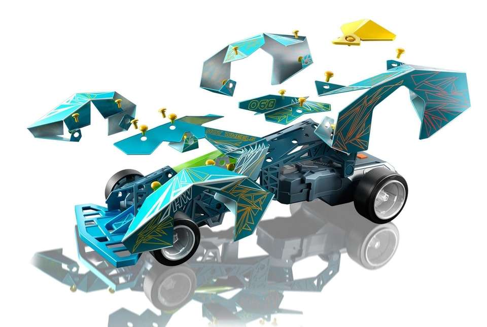 After building this customized RC car from the