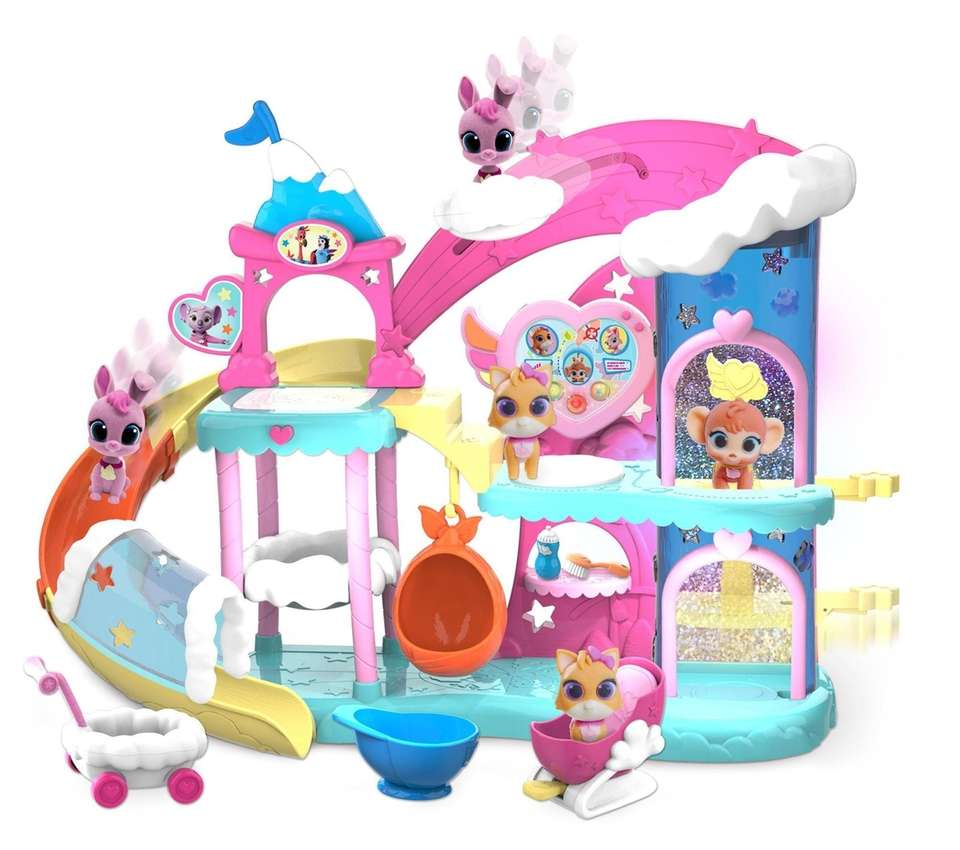 The Tiny Ones Transport Service (T.O.T.S.) nursery, where