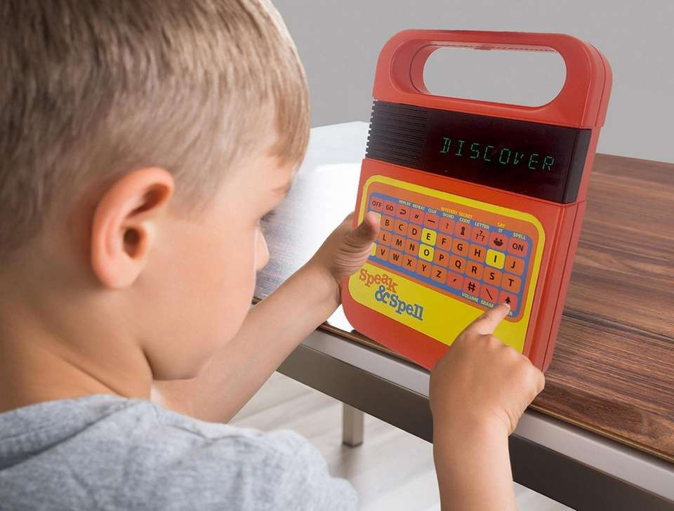 Speak & Spell was one of the first
