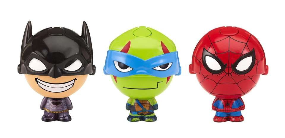 Kids can pop open these collectible figures of