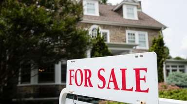 The rising inventory of homes for sale may