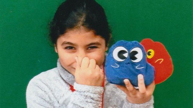 Kidsday reporter Amber Lound of Daniel Street Elementary