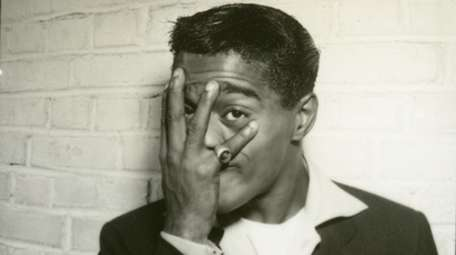 Sammy Davis, Jr. kicks it up in a