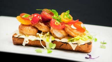 The shrimp po' boy is a specialty at