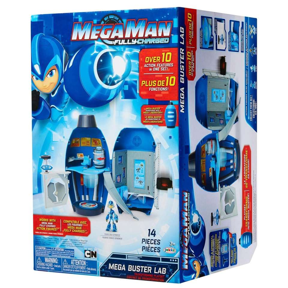 The Mega Man: Fully Charged line are robot
