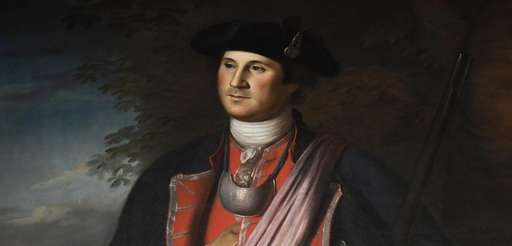 A 1772 portrait of George Washington by Charles