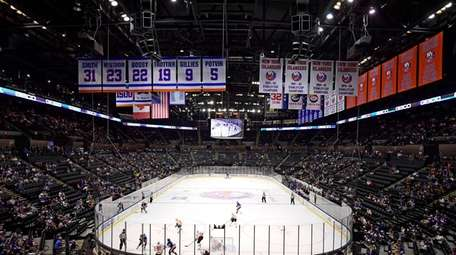 A general view of NYCB Live's Nassau Coliseum