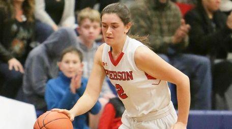 Pierson/Bridgehampton's Katie Kneeland scored 13 of her 17